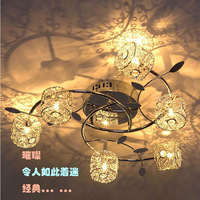 LED Aluminum Wire Ceiling Lamp Modern Minimalist Living Room Bedroom  Stylish Aluminum Wire Ball Stainless Steel Ceiling lamp