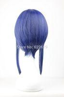 Sword Art Online -Sachi 45cm Medium Length Blue Anime Cosplay WigKanekalon Fiber no lace Hair wigs Free shipping
