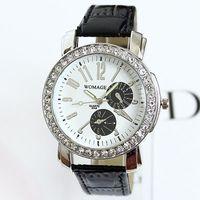 2014 Newest Fashion Table Needle Diamond Quartz Watches Casual Style Women Dress Watch Ladies Wristwatches Best Gift