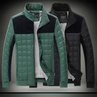 2014new autumn winter men's Slim fit jacket high quality coat male fashion warm coats casual jackets M-3XL