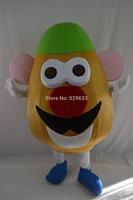 Wholesale hot mr.potato Mascot Costume adult advertising mascot costume EMS free shipping