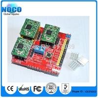 New cnc shield v2 engraving machine / 3D Printer / + 3pcs A4988 driver expansion board for Arduino