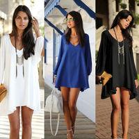 2015 New Women Chiffon Casual Tops Dress  Shirt Summer Candy Color Puff  Femininas  Long Sleeve Chiffon Blouse Plus Size lyq130