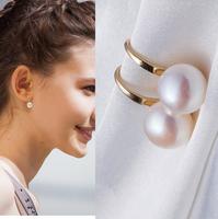 Fashion Wedding Jewelry Women Earrings Bijoux Elegant Pearl Pendant Earring Free Shipping