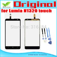 1pcs/lot Original Touch Screen Digitizer For Nokia lumia 1320 N1320 Touch screen  Digitizer with opening tools Free shipping