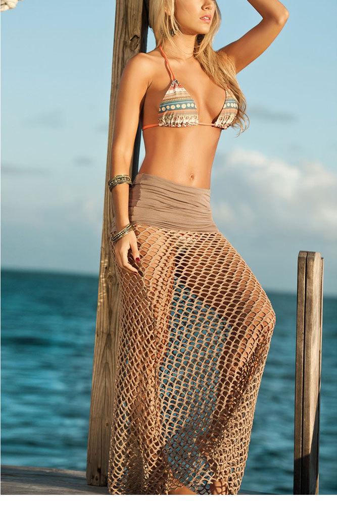Женская туника для пляжа Dear-lover vestidos LC41100 2015 женский комбинезон dear lover bodycon lc6300
