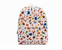 New 2014 The  canvas leisure backpack backpack bag bag bag college female phone
