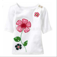 Long sleeved T-shirt direct children's direct children pure cotton T-shirt selling t-shirts