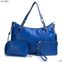 New Famous Designers Brand women shoulder bag fashion handbag 1 big bag 2 wallets