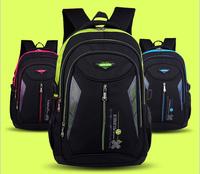 2015 New Polyseter waterproof kids backpack lightening mochila school travel bag children school bags for girls boys
