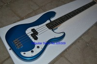 NEW style blue bass guitar 2015 4 strings electric guitars
