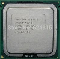 For Intel Xeon E5335 CPU (8M Cache,2.0GHz,FSB 1333MHz, SLAEK  LGA771 Quad Core Server CPU 771 turn 775 Gift a conversion sticker