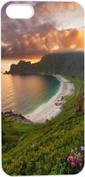 Beautiful Sea Coast View Hard Unique Designer Slim case for apple iphone 5 5S 5G