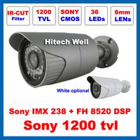 HD Sony 1200TVL Outdoor Waterproof Video Surveillance with IR-CUT Filter Security 36 Leds Night Vision IR 30 Meters CCTV Camera