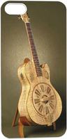 Wood Guitar Hard Unique Designer Slim case for apple iphone 5 5S 5G