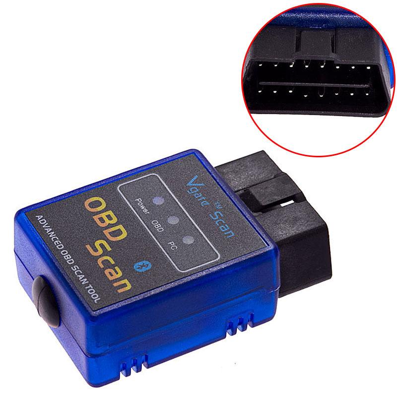 NEW ELM327 V1.5 ODB2 ODB-II Wireless Bluetooth Car Auto Diagnostic Scan Tool Blu(China (Mainland))