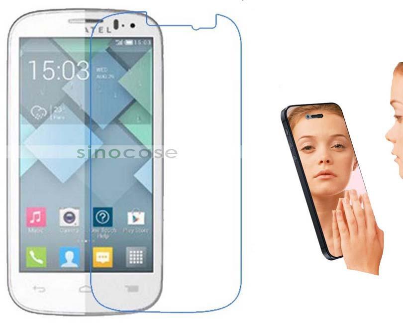 Защитная пленка для мобильных телефонов Alcatel 5036D Alcatel C5 LCD skinbox flip case skinbox alcatel 5036d pop c5