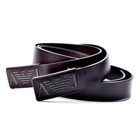 Luxury Brand  Buckle design high quality 100% Cowhide Men Original Genuine Leather Belt fashion Vintage trouser belt