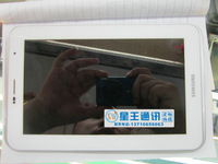 """for Samsung Galaxy Tab 2 7"""" P3100 White Full LCD Display Panel + Touch Screen Digitizer Assembly + Frame Bezel Replacement"""