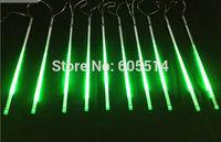 [Seven neon]Free shipping green AC110-220V 3meters 10pcs/set 20W 80cm long 78leds/pcs 3528led smd led meteor tube light
