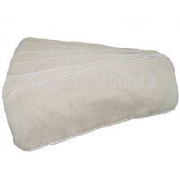 Free Shipping  350 pcs  Organic Hemp Cotton Insert for baby Cloth Diaper nappy, 55% hemp, 45% organic cotton