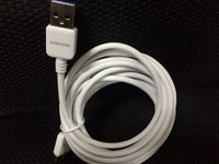 200PCS 3M Micro USB 3.0 Sync Data Charger Cable For Samsung Galaxy Note 3 N9000 White Free Shipping