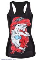 Classic Mermaid Image Sexy Vest LC25337