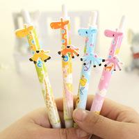 12pcs/lot Novelty Stationery Cute Giraffe Ballpoint Pen Kawaii Ball Pen For School Office Student Gifts Wholesale