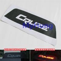 Car sticker brake light decoration sticker accessories special carbon fiber sticker for Chevrolet cruze 1pc