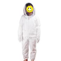 Full Protect safety beekeeper Hiver Apiarist Uniforms Workwear coat beekeeping suit jacket full protecting Veil Smock
