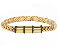 new arrival spring wire line colorful titanium steel stretch bracelet Bangles