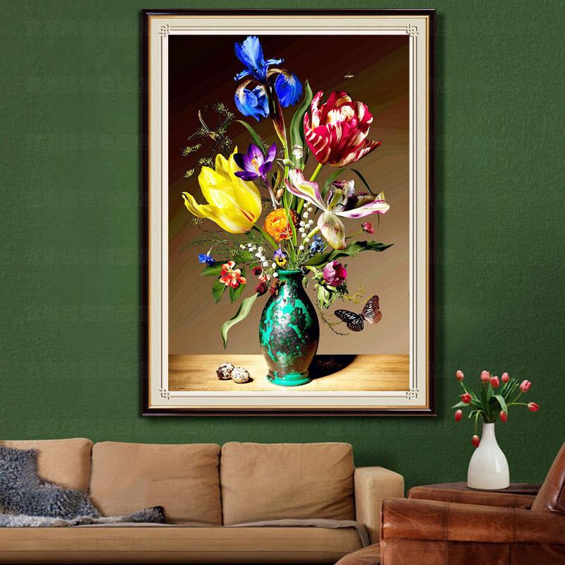 Vergelijk prijzen op modern floral arrangements online winkelen kopen lage prijs modern - Decoratie kamer slapen schilderij ...