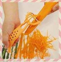 Colorful Multifunctional Vegetable Fruit Peeler Parer Julienne Cutter Slicer Grater Kitchen Easy Tools Gadgets Helper