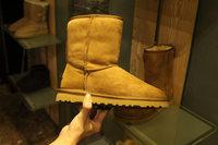 Women snow boots female fashion Australia ankle boot ladies genuine leather shoes size 35-41 sapatos femininos  flat heels 4