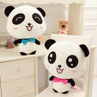 "Plush Doll Toy Stuffed Animal Cute Panda Pillow Quality Bolster Gift 20cm 8"""