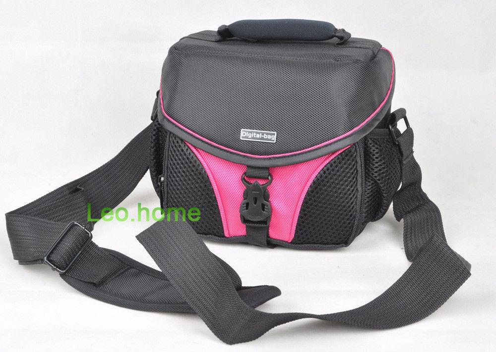 vecolo pink Camera Bag Case For SAMSUNG Nikon sony canon Olympus(China (Mainland))
