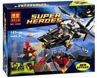 Bela 10226 185pcs bricks Super Heroes Man-Bat Attack DIY building block sets toys include Man-bat,Night Wing & Batman Minifigure