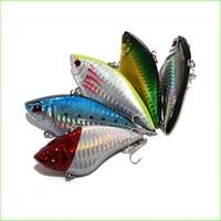 Free Shipping L061M Mix 5 pcs /set 7.0cm/16.5g VIB Fishing Lure fishing spoon metal fishing lure bait spool