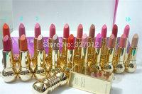 5pcs/lot Brand Makeup ROUGE Lipstick Lipsticks Colors Cosmetics Lip Stick!!!Free shipping!