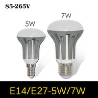 1pcs New arrival Dimmable E14 E27 5W 7W LED Umbrella bulb AC 85V 110V 220V 265V LED lamp Spot light SMD 2835 lutres Chandelier