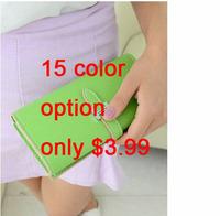 Hot Sale Lowest Price Fashion Women Wallet Bags Casual Wallet 15 Color Option Classic Design Elegance Bags