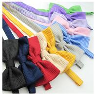 Korean Bowtie Men's Polka Dot Bow Tie Formal Bowties High Fashion Bow Ties Polyester Bowties Self Tie Bow Ties Wedding Bowtie