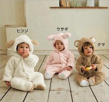 Осень зима детская одежда ватки комбинезон животных одежда ползунки детская одежда все для детская одежда и аксессуары