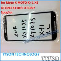 Outer Glass Lens for Moto X X+1 X2 XT1093 XT1095 XT1097 Front Glass 5pcs/lot Free Shipping