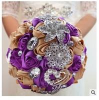 2015 Hot sale new wedding decoration Korean whtie bride bouquet