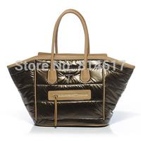 2014 fashionable woman's big smiley bag vintage handbag shoulder bag free shipping cheap online