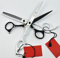 1set=2pcs PURMAG Leo Hair Scissors 6.0 Inch 440C Professional Barber Hair Salon Shears Thinning Cutting Scissor