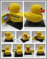 1.5'' LCD Yellow Duck 1080P 120 Degrees 24pfs Car DVR Camera Support G-Sensor Night Vision HDMI Dynamic