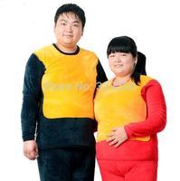 Fertilizer plus-size thermal underwear in elderly with velvet thickening heavy gold velvet warm a male ms code