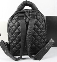 2014 brand name women down with sheepskin backpack NO.A9003